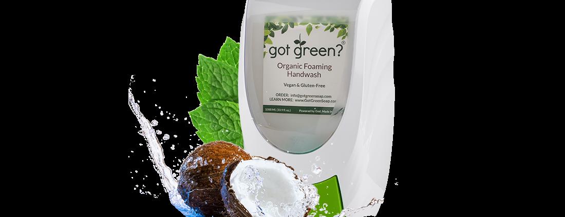 Organic Soap Dispenser