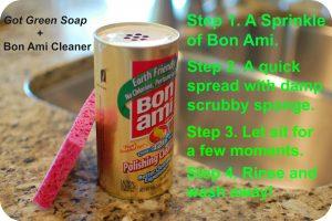 Clean Soap Scum