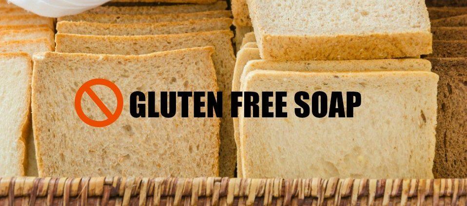 gluten free soap
