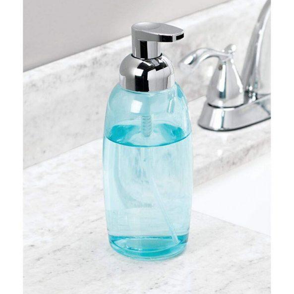 Organic Soap Refill, Blue Glass Foamer