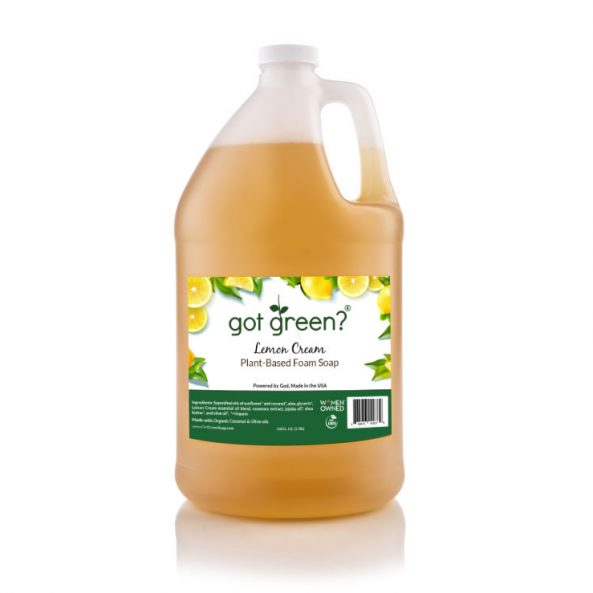 Lemon-Cream Scent Gallon