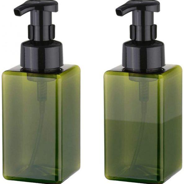 Green 15oz Foam Bottle